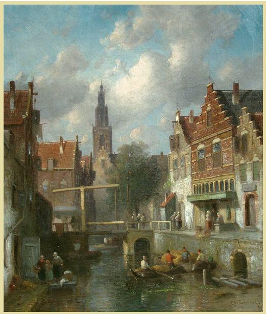LEICKERT schilderijen van Charles Leickert  te koop aangeboden