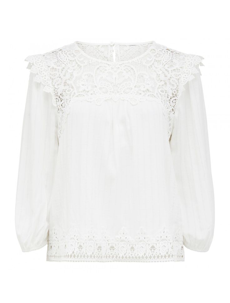 Discover a new wardrobe favourite and channel chic sophistication with our Cassidy Lace Trim Blouse, sure to see you transition effortlessly from day to night.