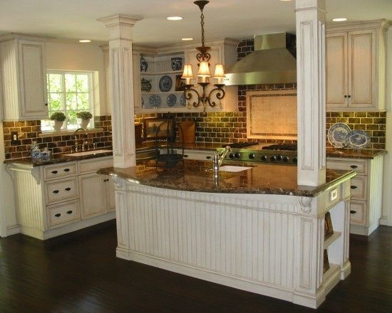 Kitchen Bar Designs With Load Bearing Walls | Found On Houzz.com