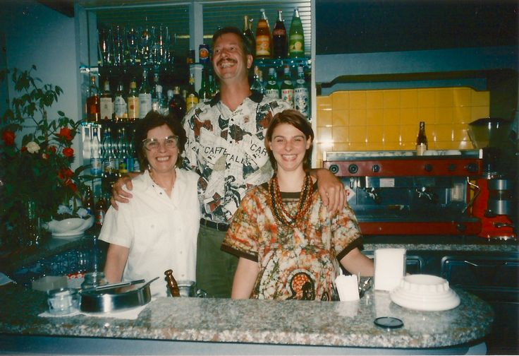 #HotelRudyCervia staff in the '90s