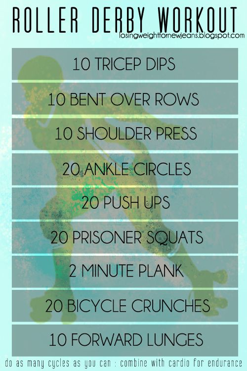 Roller Derby Workout                                                                                                                                                                                 More