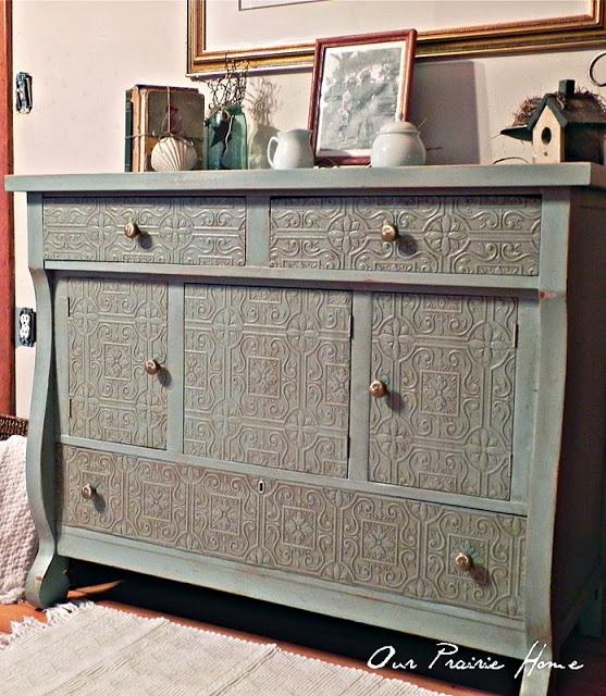 textured paintable wallpaper dresser - photo #7