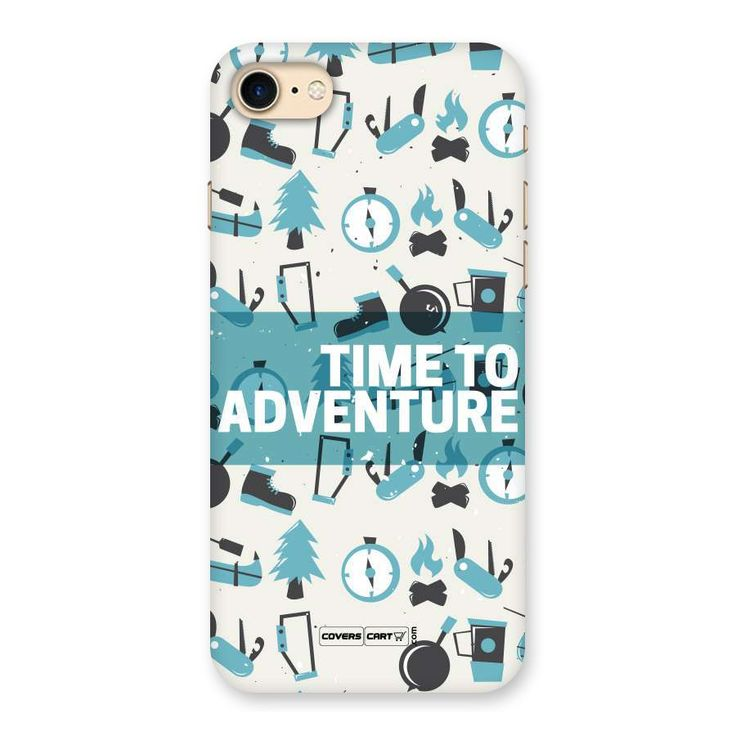 Time To Adventure Blazing Blue Back Case for iPhone 7 | Mobile Phone Covers & Cases in India Online at CoversCart.com