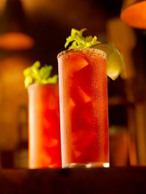 Bloody Caesar  Drink Recipe - Recipe for Bloody Caesar: The Bloody Caesar is a Canadian cocktail much like the American Bloody Caesar.