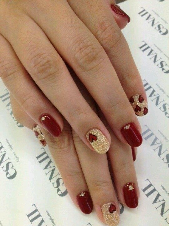 Happy Valentine's Day, Valentine's Day Nails