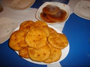 Sopaipillas...great Chilean snack my grandma makes!