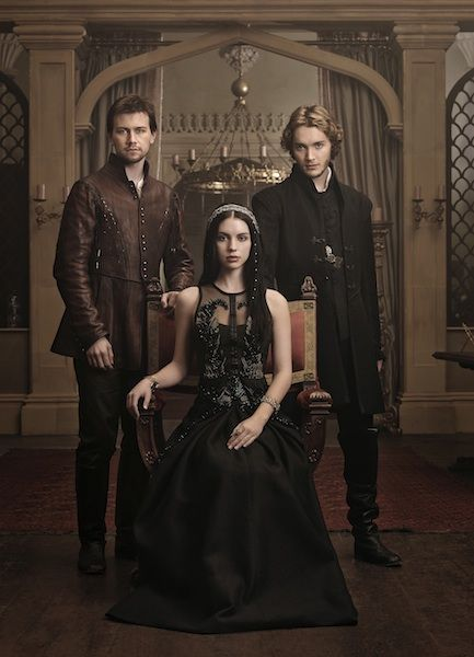 The Reign Costume Designer Shopped for 16th Century Costumes on Net-a-Porter: Sebastian (Torrance Coombs), Mary (Adelaide Kane), and Prince Francis (Toby Regbo)