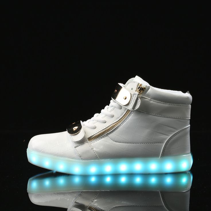 APP Control LED New Shoes Remote for Teenagers Adults Lighted Dance Shoes  Large Size Light Up Shoes Men Luminous Shoes Glowing