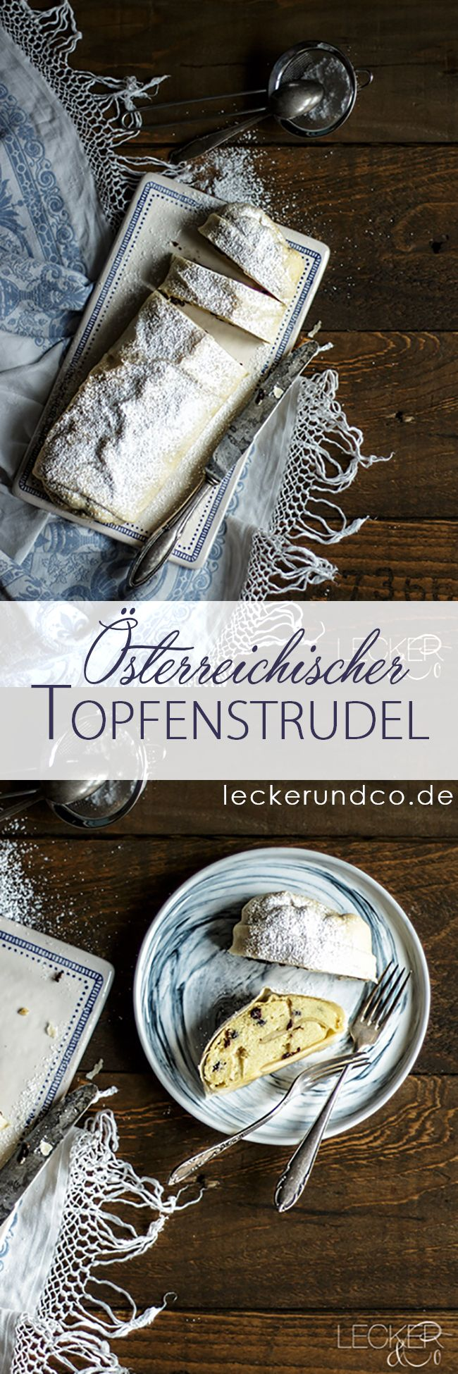 Topfenstrudel aus Österreich