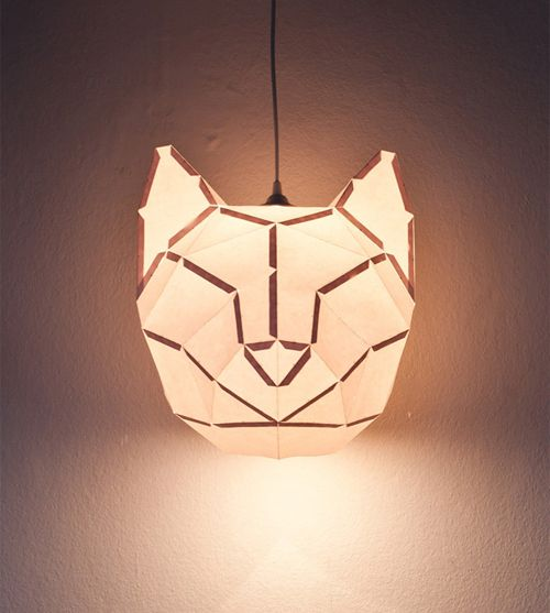 Design and Paper | Rabbit and Friends – D.I.Y. Paper Lamps by mostlikely | http://www.designandpaper.com