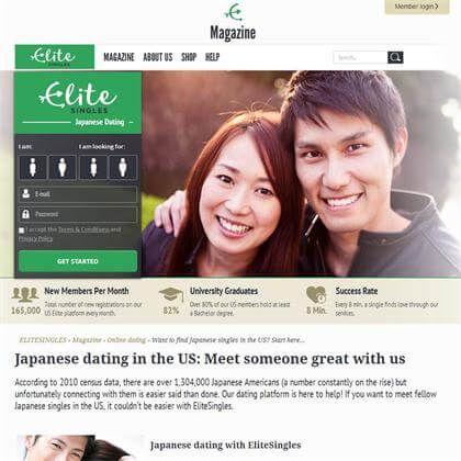 EliteSingles | 10 Best Japanese Dating Sites (2017)
