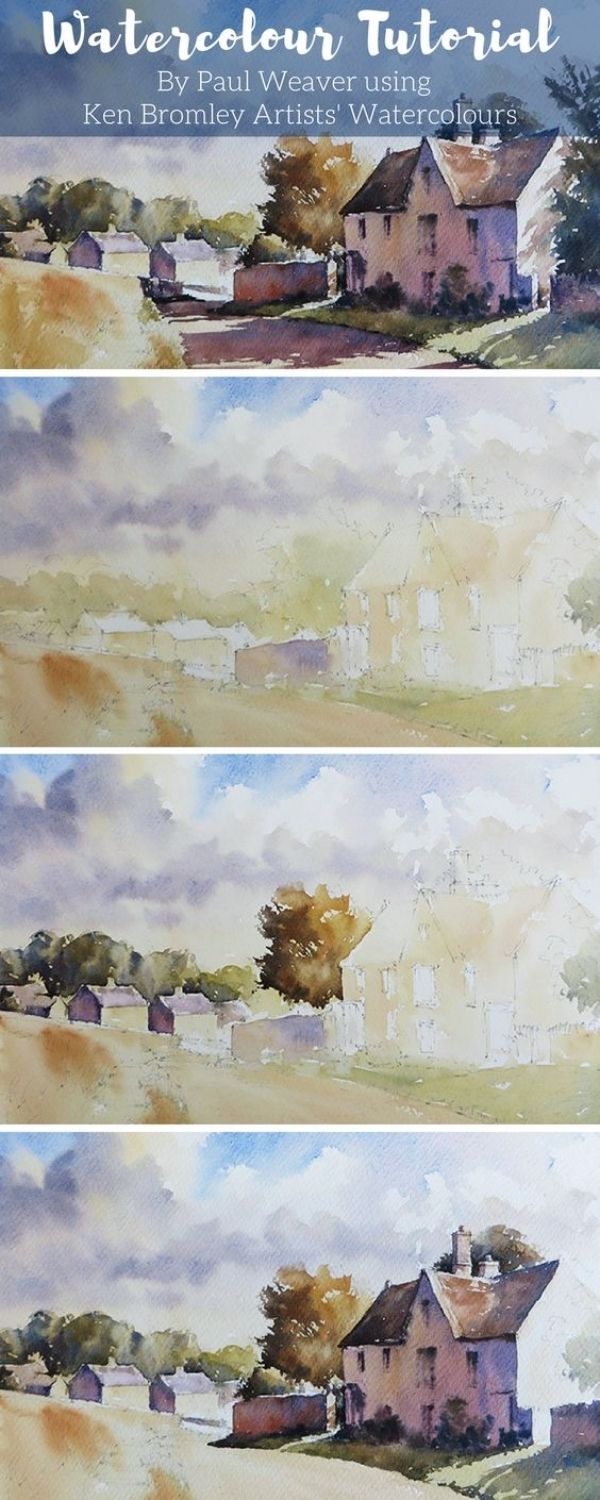 40 Quick Painting Tutorials For Episodic Painters Watercolor