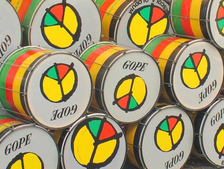 Los tambores de Olodum