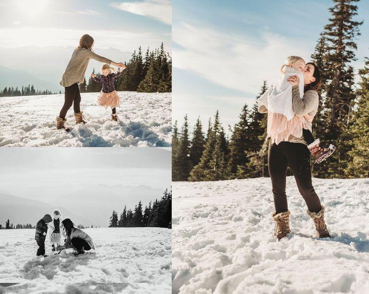 Hurricane Ridge in the snow! | Fiona Margo Photography