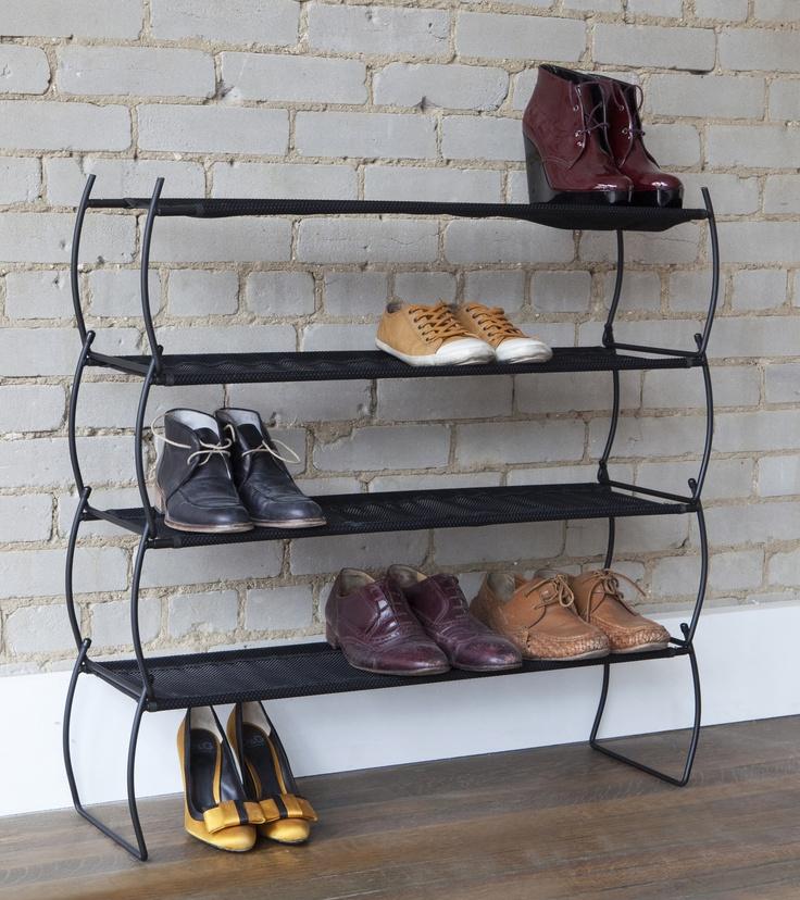 Imelda   Stackable Shoe Rack   Umbra, design by Jordan Murphy