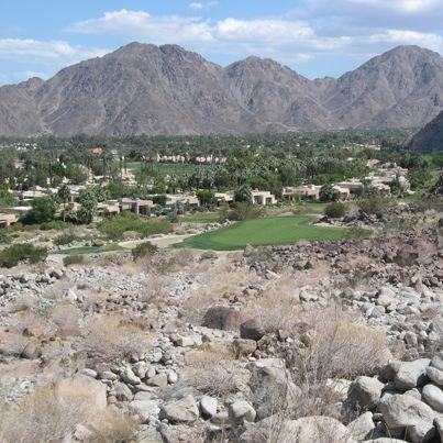 2013 Californian Desert Tour - An Amazing Par 3 16th @ Mountain Course #mountaincourse #california #golf #teeoff #swing #golfer #golfcourse #golfing #golfclubs #holeinone #game #endurance #golftours #greengolftours