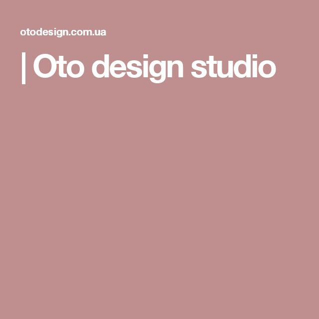 | Oto design studio