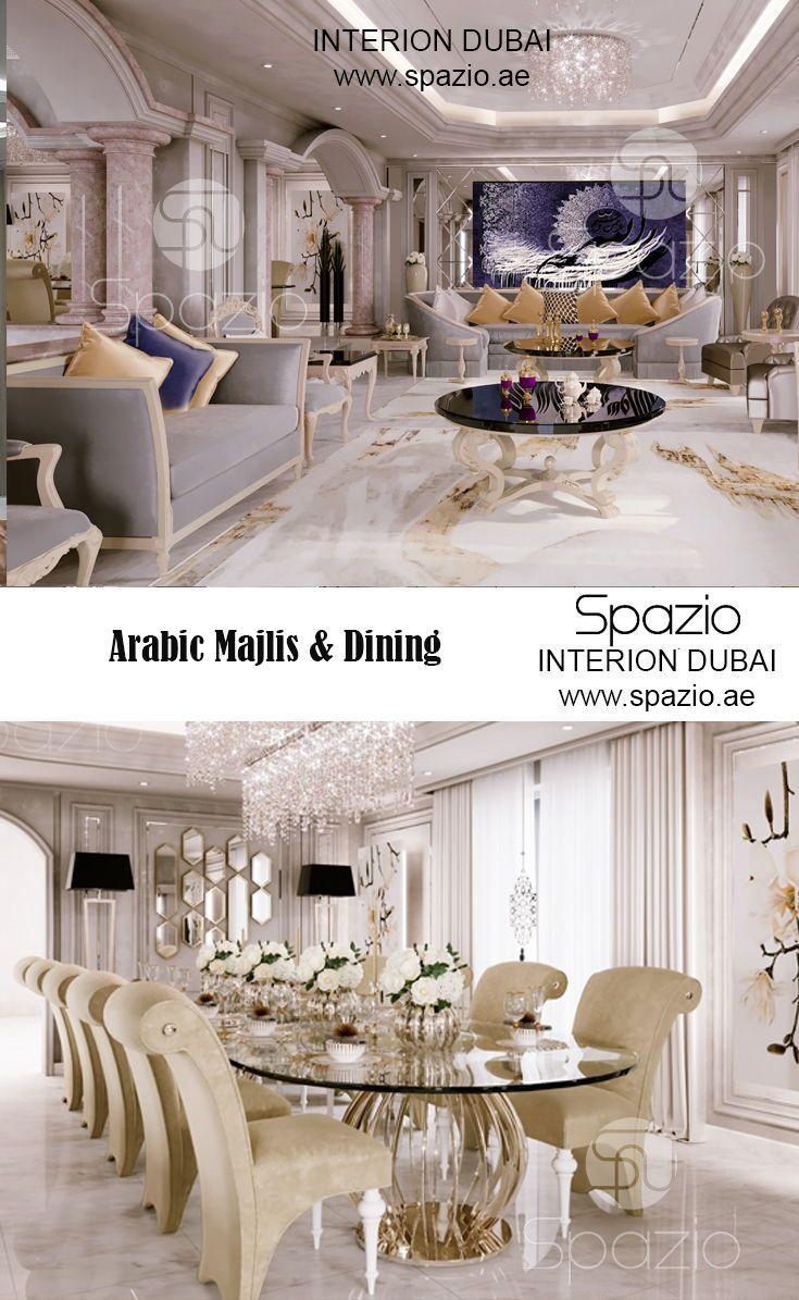Arabic Majlis Interior Design In Dubai Uae 2020 Luxury Mansions Interior Interior Design Design
