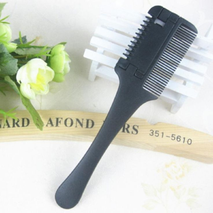DIY Bangs Trimming Hair Styling Hairdressing Plastic Barbers Brush Combs JKZX-XCOMB-21