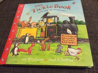 The Tickle Book by Ian Whybrow and Axel Scheffler