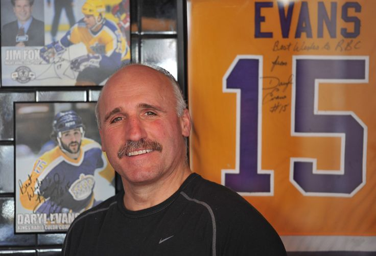 Interview with LA Kings' Legend Daryl Evans