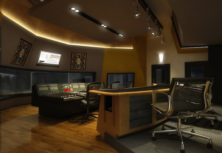 Neve Control Room, Village Studios. Guangzhou, China.