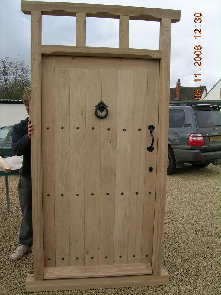 handmade unique solid oak external doors in Warwickshire, coleshill, bespoke design skilled craftmanship Handmade Furniture - http://amzn.to/2iwpdj4