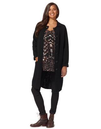 CARLOTTA cardigan black   Cardigan   Sweaters and Cardigans   Fashion   INDISKA Shop Online