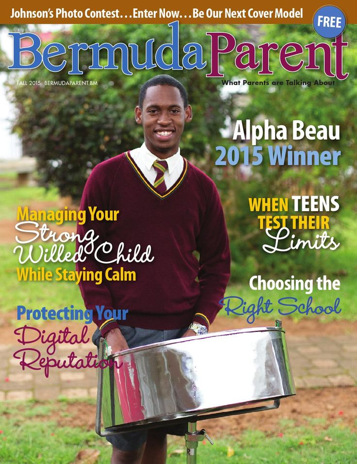 Introducing our Fall 2015 issue of Bermuda Parent!
