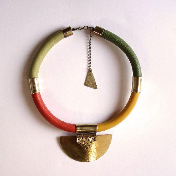 KAWUAYO Necklace afro style l'inspiration par havanaflamingo