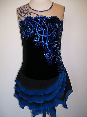 CUSTOM MADE TO FIT ICE SKATING BATON TWIRLING DRESS on eBay!