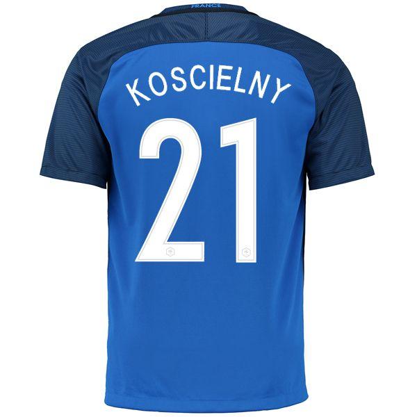 2ee773221 Laurent Koscielny 21 2018 FIFA World Cup France Home Soccer Jersey ...