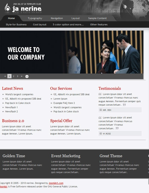 136 best Joomla 2.5 Templates images on Pinterest | Joomla ...