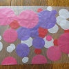 Pink and Purple Place Mats | AllFreeHolidayCrafts.com