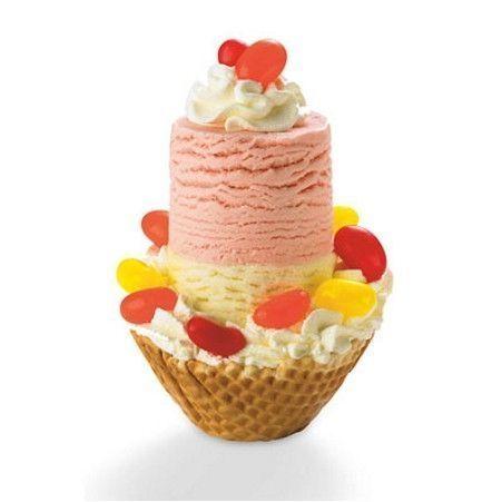 Oryginalna i zarazem wygodna łyżka do lodów firmy Cuisipro wycina cylindryczne gałki do lodów. Gałki nakładane sa przez  pionowe wbicie łyżki w pojemnik z lodami. Porcje lodów wykładane są przez wciśnięcie górnego przyciku, który uruchamia wypychajacy tłok. lody, ice cream