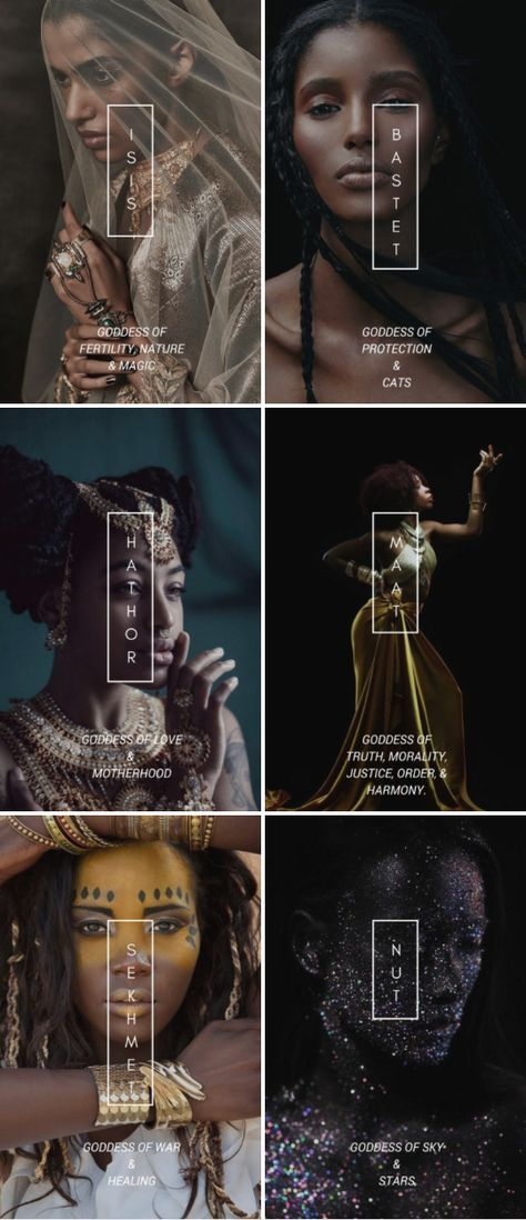 Egyptian Mythology Popular Goddesses