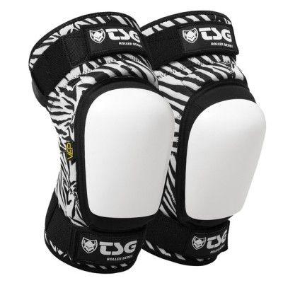 Tsg-Kneepad Roller Derby Zebra-2013