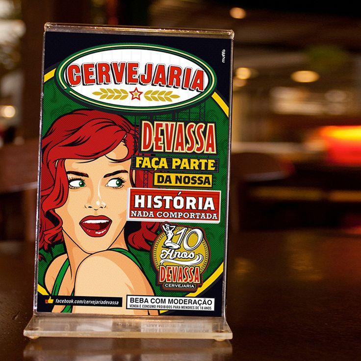 DEVASSA - (Design by Muffa Comunicação) muffa.com.br