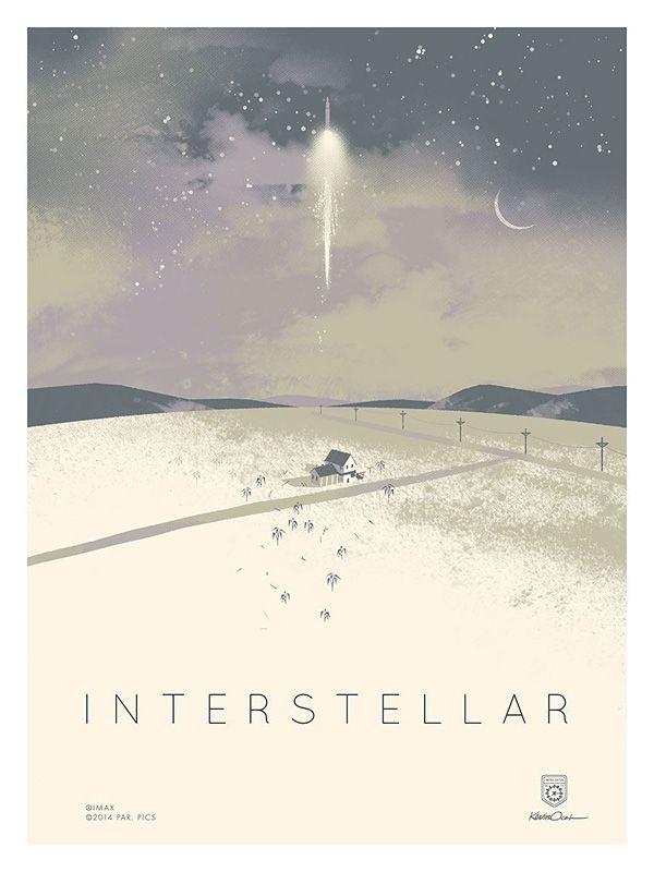 movie poster - interstella