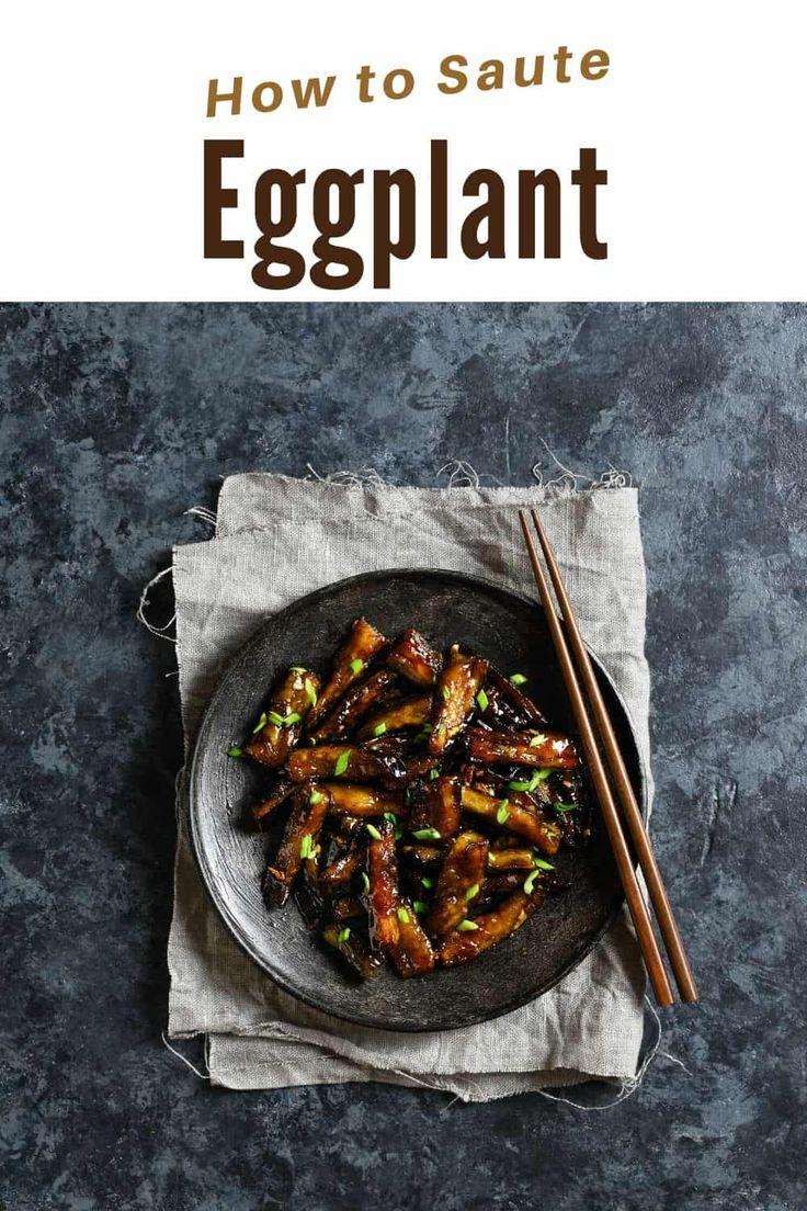 Saute asian eggplant recipe