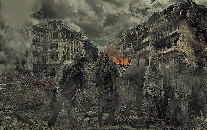 Sputnik Türkiye ///  Bilim insanları, olası bir zombi salgınında insanlığın kaç günde son bulacağını açıkladı
