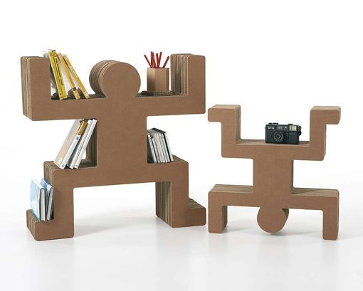 7 Muebles que nunca te hubieses imaginado que están hechos de cartón