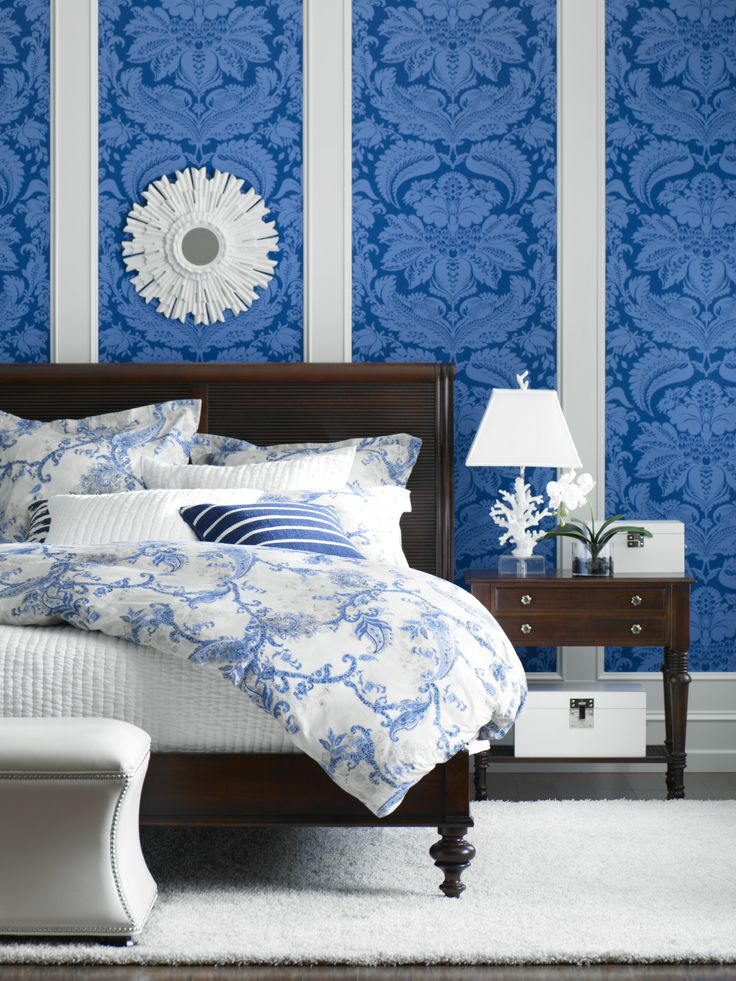 17 Best Images About ETHAN ALLEN :: Blue Interiors On