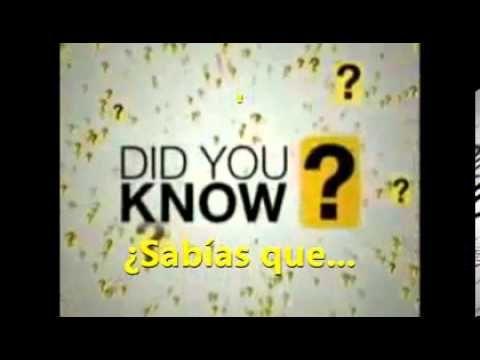 ¿Sabías qué?