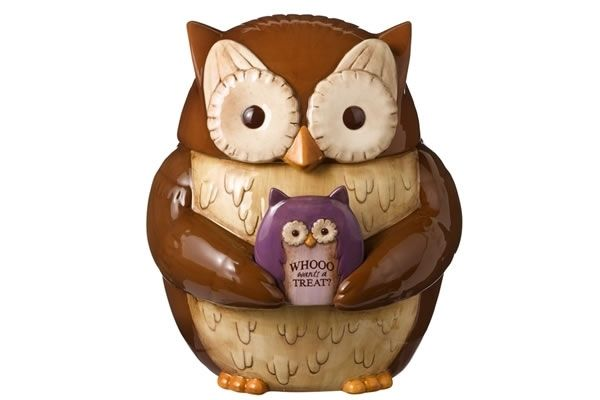 Crimson Hollow - Owl Cookie Jar - Boing Boing Shop