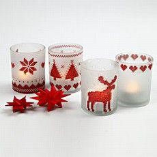 decoratie voor de kersttafel