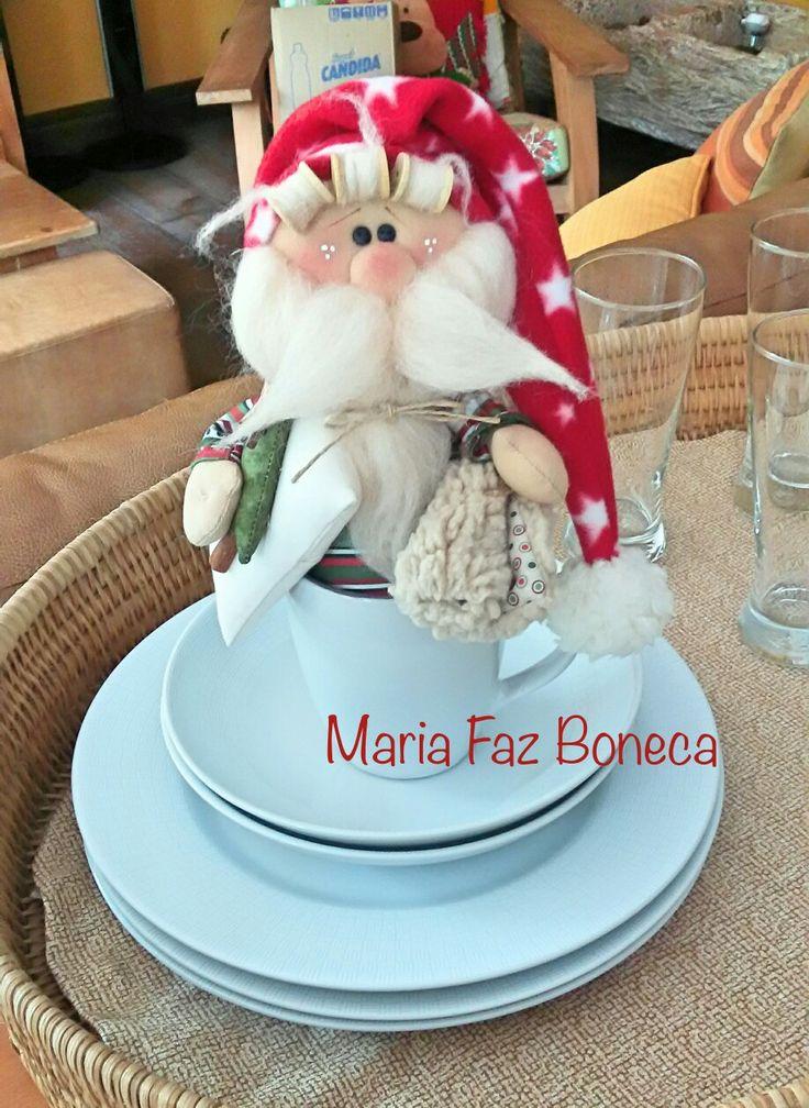 Santa en la taza