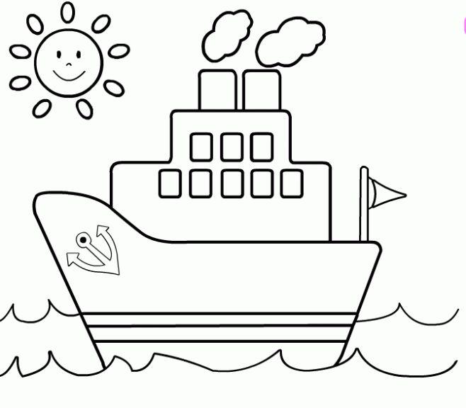 Ms de 25 ideas increbles sobre Dibujo de barco en Pinterest