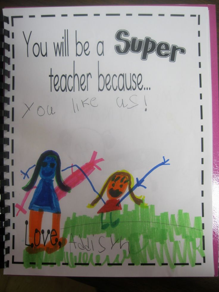 Kindergarten Rocks!: Student Teacher Gifts--- so cute, good thing to remember