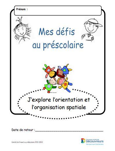 orientation et organisation spatiale